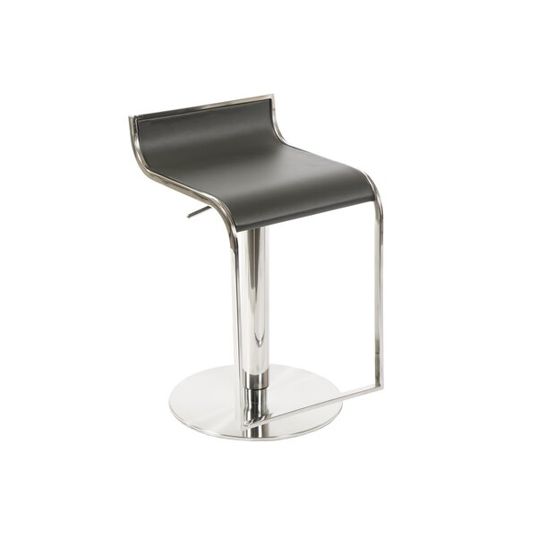 Ascella Adjustable Height Swivel Bar Stool by Orren Ellis
