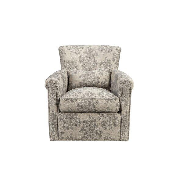 Dedra Swivel Armchair by Darby Home Co