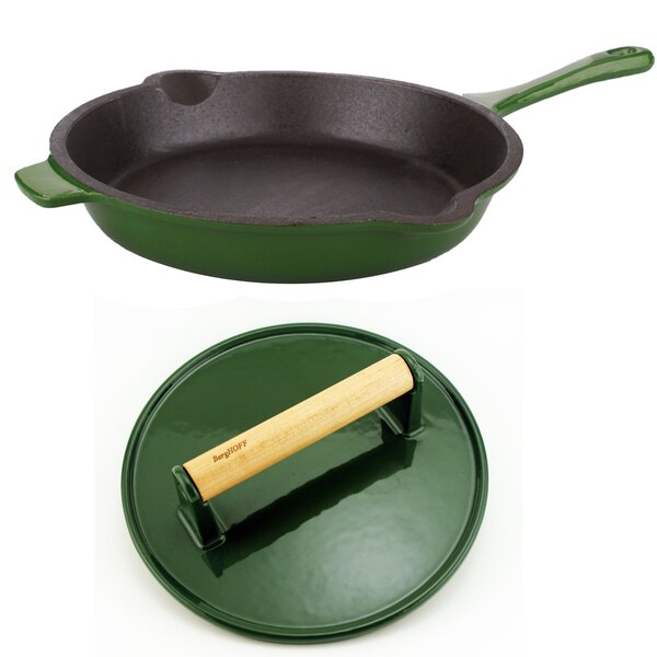 Neo Cast Iron 2 Piece Frying Pan Set by BergHOFF I