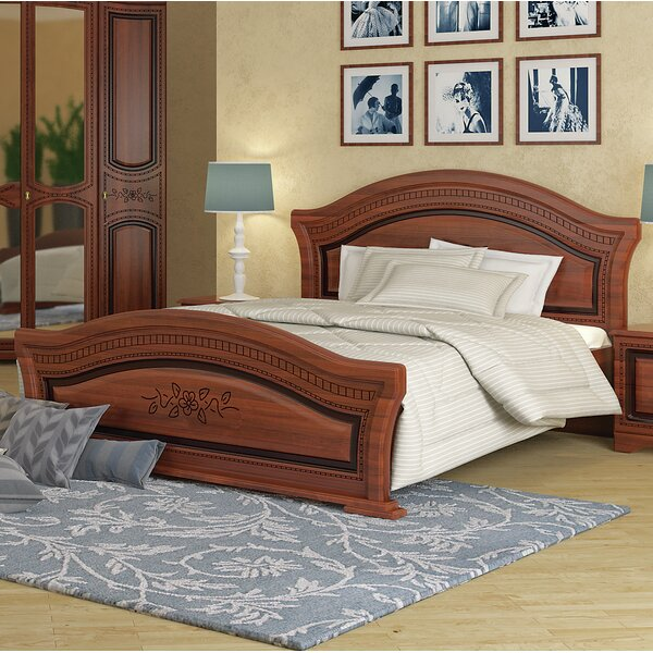Cormiers Queen Platform Bed with Mattress by August Grove