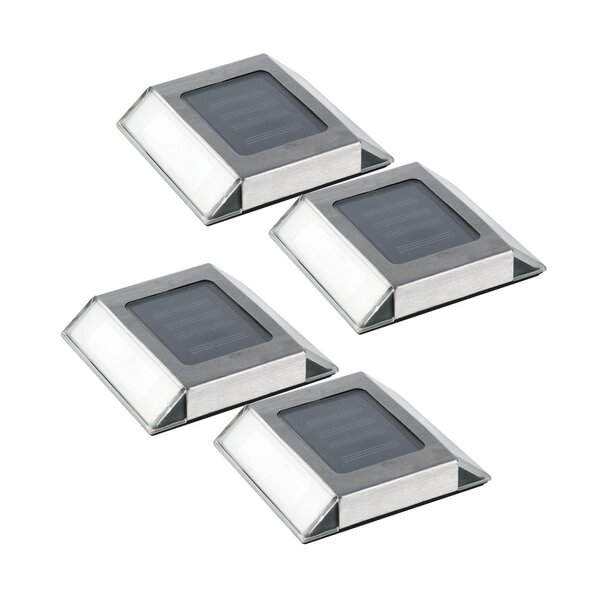 1-Light Deck Light (Set of 4) by Nature Power