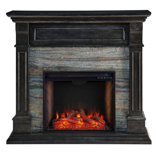 Jayben Alexa Enabled Media Electric Fireplace By Millwood Pines