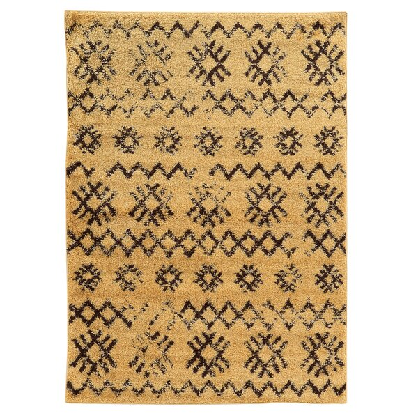 Westland Camel/Brown Area Rug by Threadbind