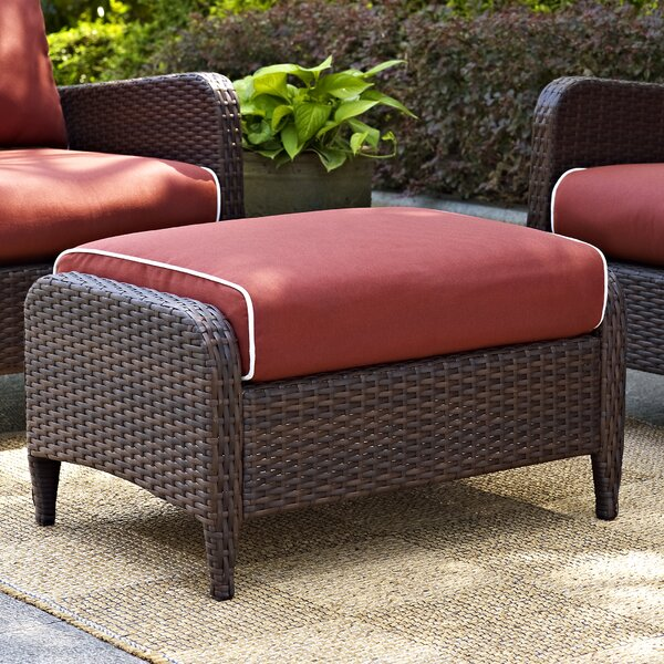 Mosca Ottoman with Cushion by World Menagerie