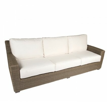 Augusta Patio Sofa with Cushions by Woodard