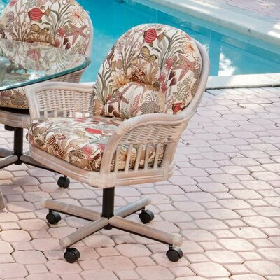 Kitchen Amp Dining Chairs With Casters Wayfair