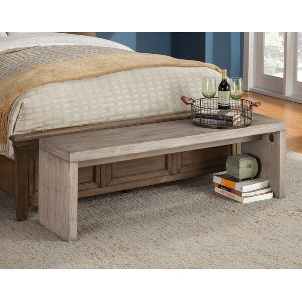 Fiji Wood Bench by Origins by Alpine