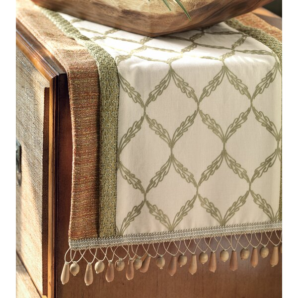 Caicos Bartow Insert Table Runner by Eastern Accents