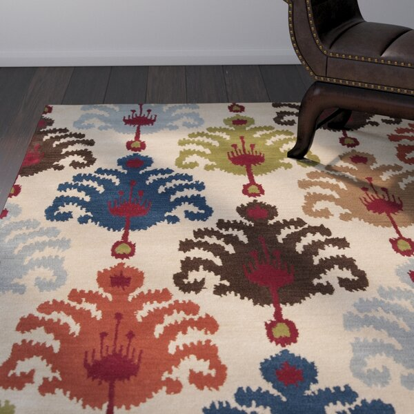Romulus Desert Sand Area Rug by World Menagerie