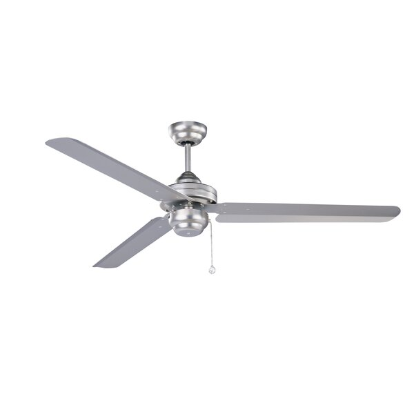 54 Schuldt 3-Blade Ceiling Fan by Latitude Run