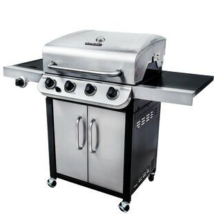 Performance 4-Burner Propane Gas Grill with Cabinet By Char-Broil