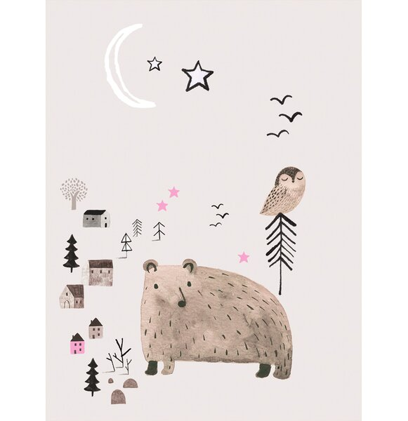 Francisca Winter Forest 3 Canvas Wall Art by Viv + Rae