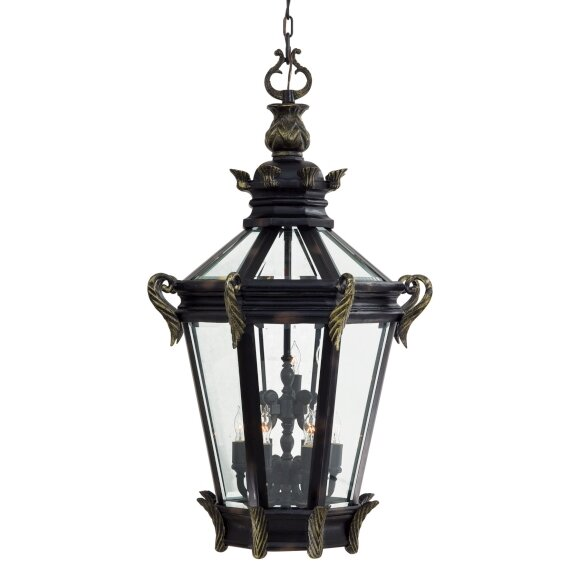 Stratford Hall 9-Light Outdoor Hanging Lantern by Great Outdoors by Minka