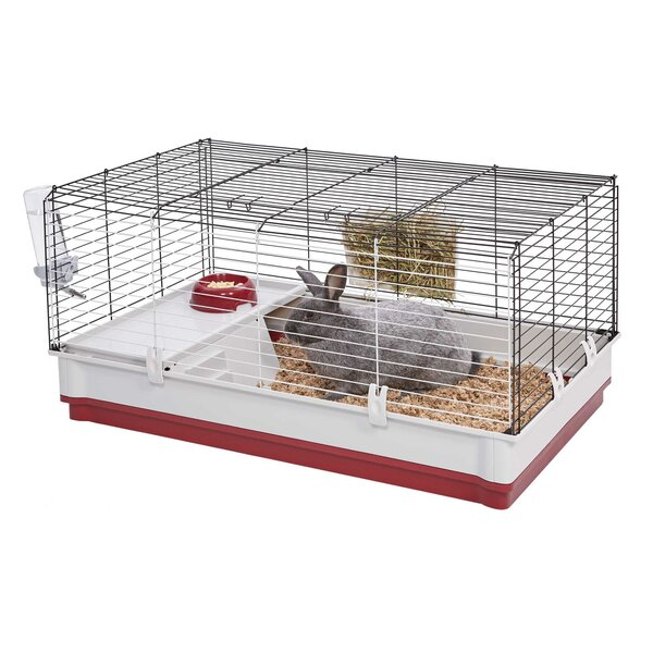 Wabbitat Deluxe Rabbit Cage with Water Bottle by Midwest Homes For Pets
