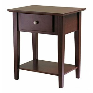 1 Drawer Nightstand by Luxury Home