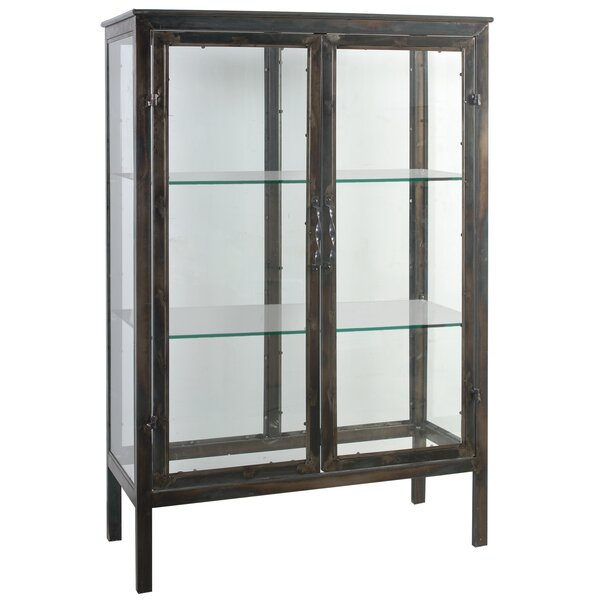 Parnell Keepsake Display 2 Door Accent Cabinet by A&B Home