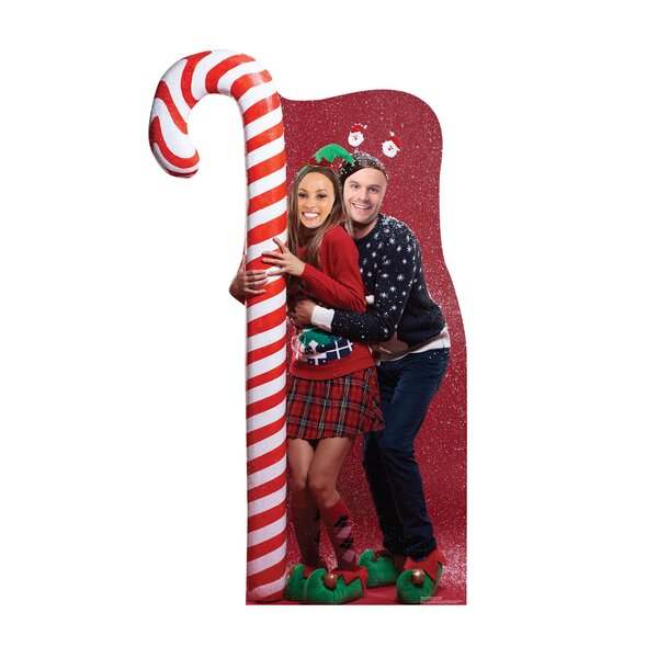 Christmas Ugly Sweater Candy Cane Standup by Advanced Graphics