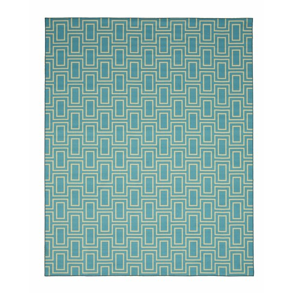 Allison Blue Area Rug by Threadbind