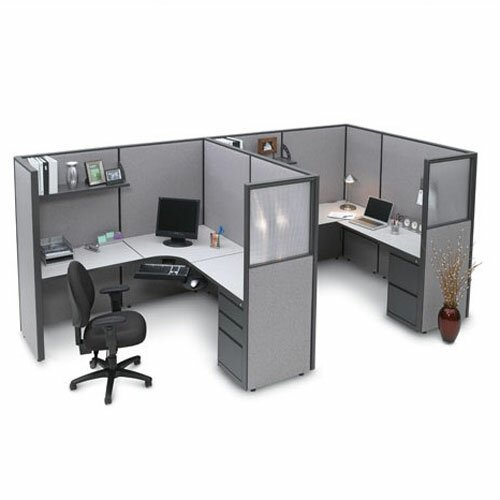 Office Workstations & Cubicles You\'ll Love | Wayfair