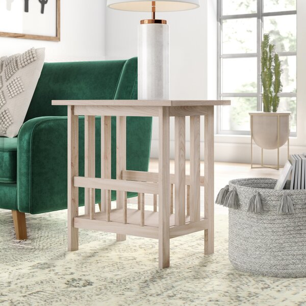 Lynn Mission Magazine End Table by Mistana