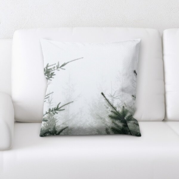Winter Feeling (80) Throw Pillow by Rug Tycoon
