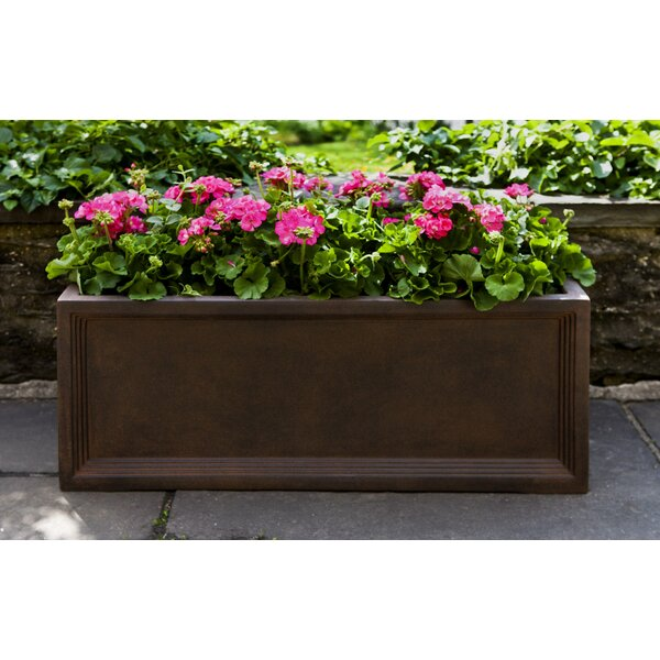 Kasi Fiberglass Clay Composite Window Box Planter (Set of 3) by Darby Home Co