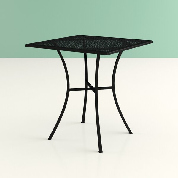Sizzle Metal Dining Table by Hashtag Home