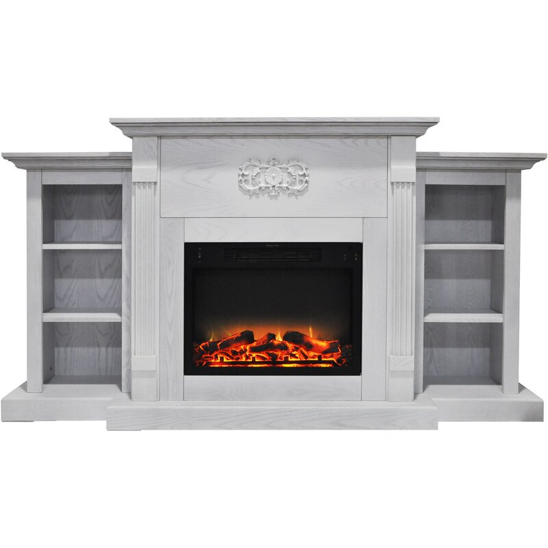 Electric Fireplace Freestanding Part - 43: Dimmick Free Standing Electric Fireplace