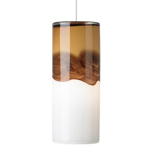 Affordable Price Oyer 1-Light Cylinder Pendant By Wrought Studio