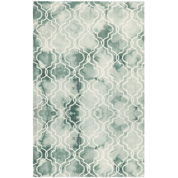 Jawhar Green/Ivory Area Rug by Bungalow Rose