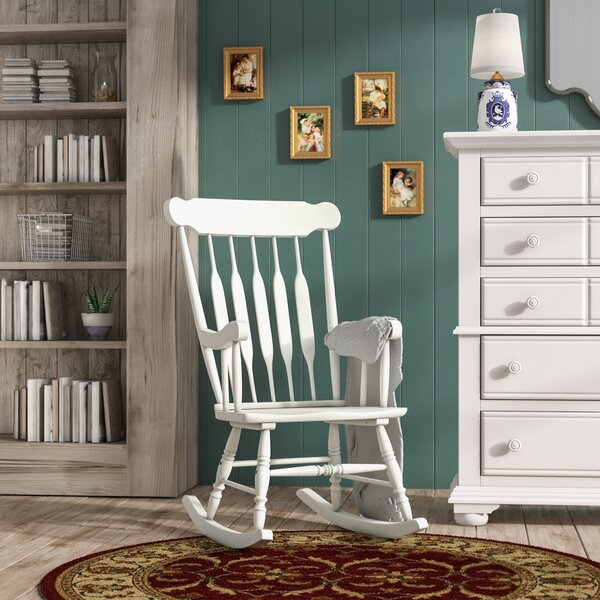 McNeel Rocking Chair by Three Posts