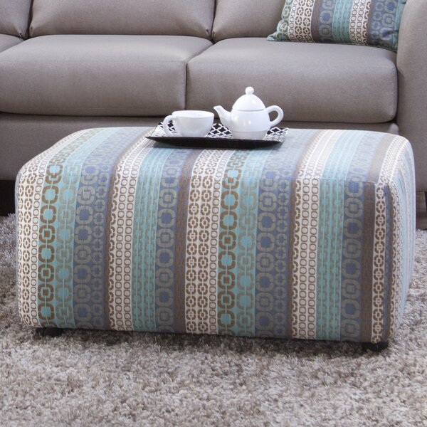 Boredale Upholstery Sandcliff Ottoman by World Menagerie