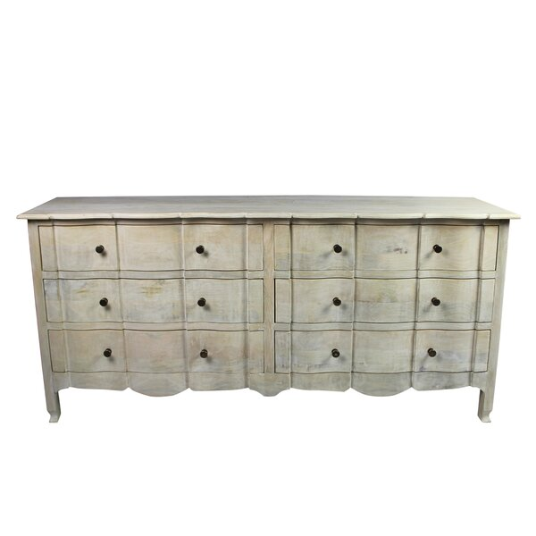 Harsha 6 Drawer Double Dresser by Gracie Oaks