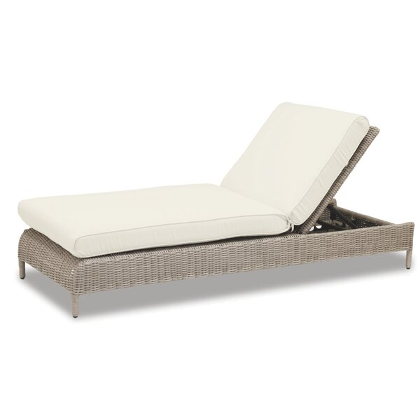 Manhattan Chaise Lounge with Cushion by Sunset West