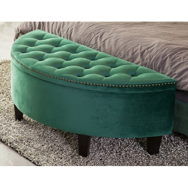 Ariad Upholstered Storage Bench By Mercer41 by Mercer41 Cheap