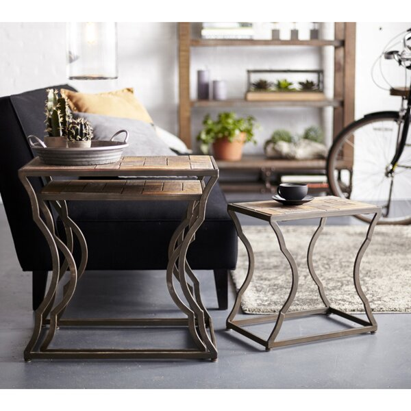 Gillsville 3 Piece Nesting Tables by Williston Forge