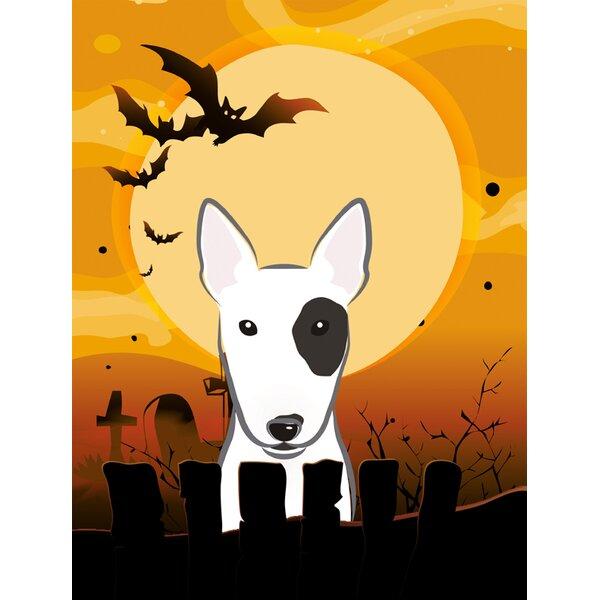 Halloween Spook Vertical Flag by Caroline's Treasures