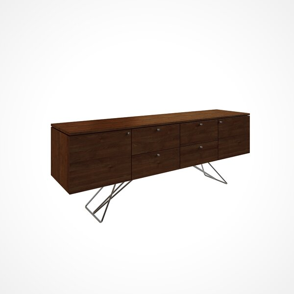 Imani Solid Wood Buffet Table by Union Rustic