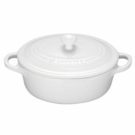 Stoneware Oval Cocotte by Le Creuset