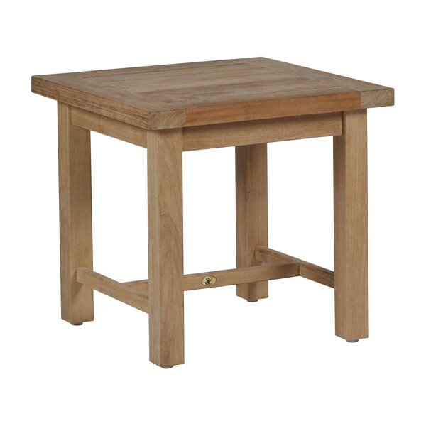 Club Solid Wood Side Table