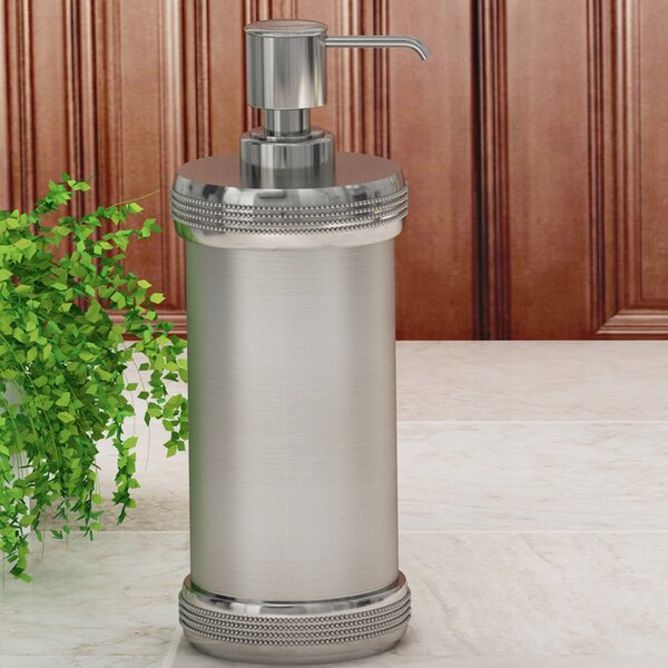 Hutto Soap & Lotion Dispenser by Charlton Home