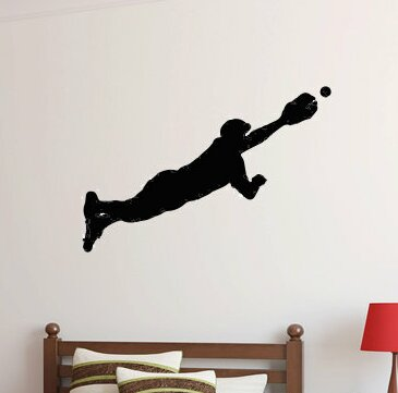 Pablo Baseball Player Wall Decal by Zoomie Kids