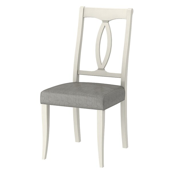Modern Lattimore Solid Wood Dining Chair (Set Of 2) By Rosecliff Heights Great price