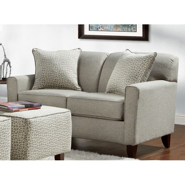 Fresh Look Holthaus Loveseat by Latitude Run by Latitude Run