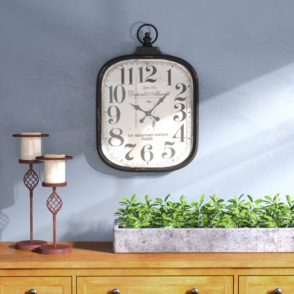 Jellison Wall Clock by Charlton Home