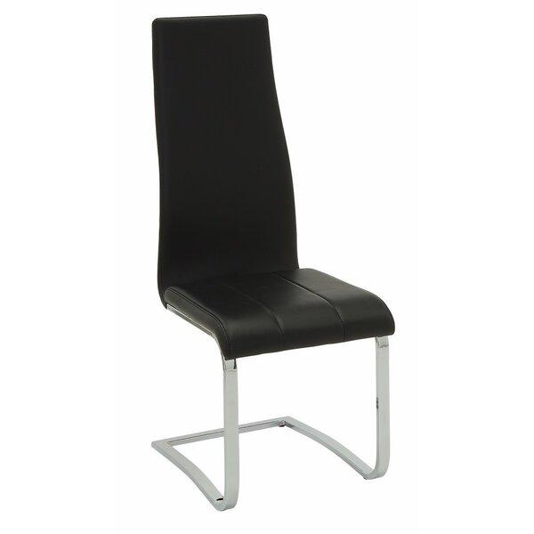 Burr Upholstered Dining Chair (Set of 4) by Orren Ellis