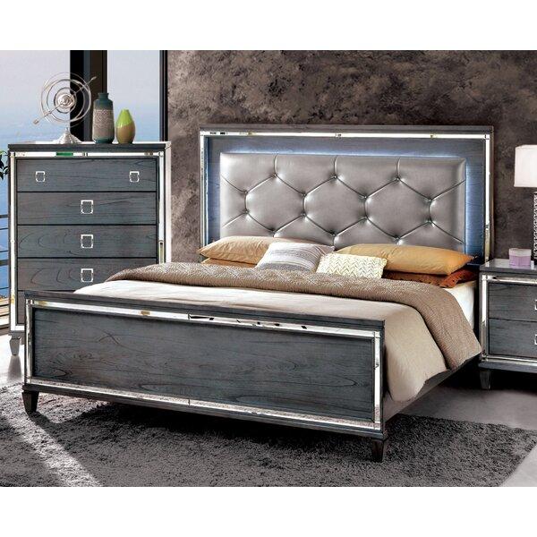 Heiner Upholstered Standard Bed by Mercer41