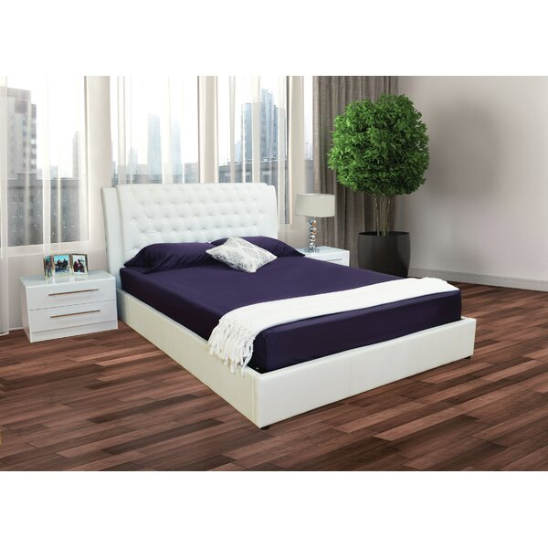 Haskett Diamond Tufted Storage Platform Configurable Bedroom Set by Brayden Studio