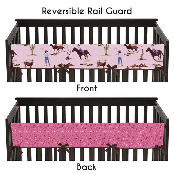 Cowgirl Long Crib Rail Guard Cover by Sweet Jojo Designs