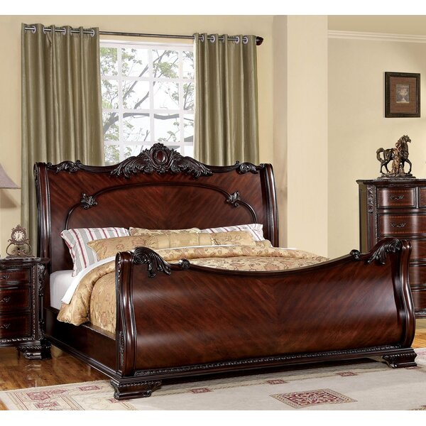 Astoria Grand Barstow Sleigh Bed Amp Reviews Wayfair
